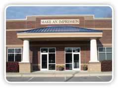 photo of the Make An Impression store exterior